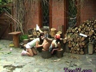लकड़ी काटने और बिल्ली चाट