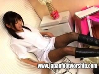 पैर बुत - जूते और pantyhose