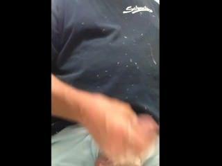 पब्लिक टॉयलेट हस्तमैथुन और सह