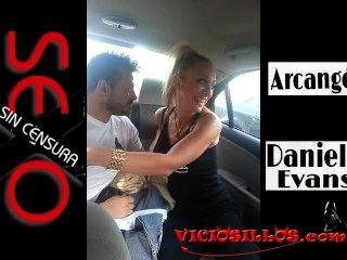 viciosillos.com द्वारा वालेंसिया के माध्यम से कार में डेनिएला इवांस Y Arcangel blowjob