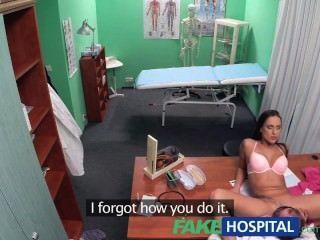 FakeHospital डॉक्टर का फैसला सेक्स सबसे अच्छा इलाज उपलब्ध है