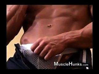 मांसपेशी twink blowjob