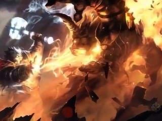 Orc बौना द्वारा गड़बड़ हो जाता है