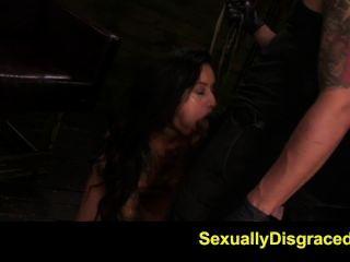 fetishnetwork एल्बी Rydes गर्म रस्सी बंधन गुलाम