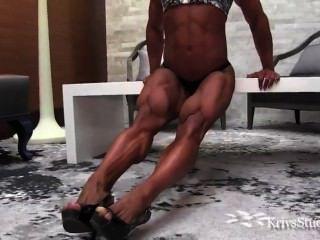 महिला मांसपेशियों