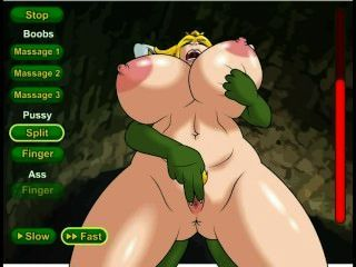 राजकुमारी कुतिया Hentai सेक्स खेल (Nintendo)