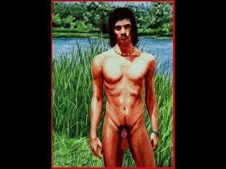invaginated पुरुष (पूरी तरह से वापस लेने योग्य लिंग के साथ मानव पुरुष) - एनीमेशन