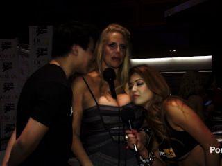 2015 AVN पुरस्कार में pornhubtv करेन फिशर साक्षात्कार