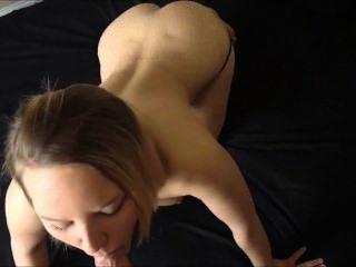गुदा सेक्स - पीओवी - उसे गधे में कमिंग