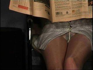 Pantyhose अपस्कर्ट, नहीं जाँघिया