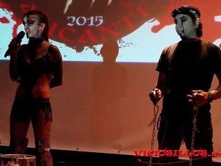 alexia गुड़िया Y मार्टिन Martir फकीर viciosillos द्वारा आतंक त्योहार में शो