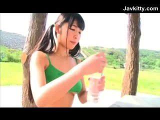 गैर नंगा लचीला जापानी किशोरों