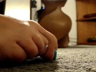 पैर के अंगूठे कर्ल