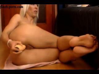 वेबकैम पर परिपक्व गोरा गुदा - flash-porn.com