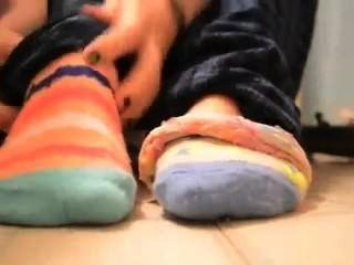 पैर की उंगलियों के मोजे (जुर्राब पट्टी)