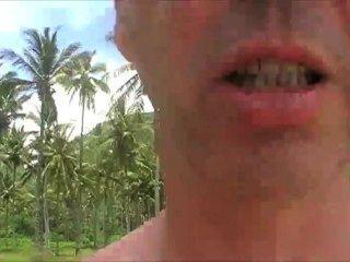 लंबोक में मेरे नग्न एशियाई गधा