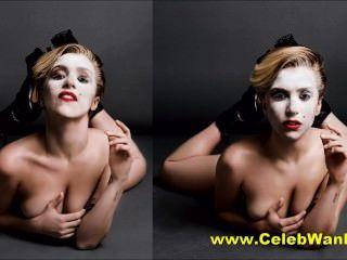 महिला नग्न पोशाक परिवर्तन और अधिक गागा