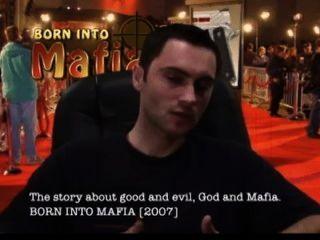 माफिया निदेशक Vitaliy versaces साक्षात्कार लाल कालीन हॉलीवुड में पैदा हुआ