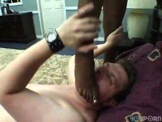 काले पैर सफेद डिक 3 के भाग 2 के साथ खेलो