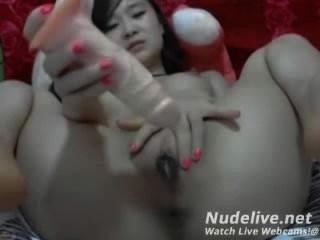 वेब कैमरा हस्तमैथुन - सुपर गर्म एशियाई किशोरों शो 5