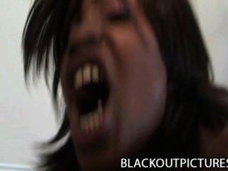 कारमेल मोड़ - शोर काली कुतिया वसा काला मुर्गा द्वारा drilled
