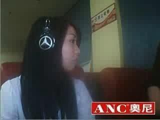 अच्छा चीनी लड़की धूम्रपान