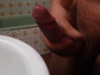 एन एल baño pajeandome