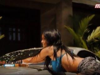 Nabilla दहेज सेक्सी कार धोने सुर एमसीएम - प्लस हॉट कुए jamais _2