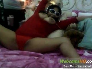सबसे बालों श्यामला 19yo किशोर Webcam पर यह झटके