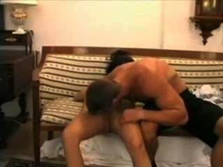 गर्म पेशी पुरुष, पावेल नोवोत्नी वेरोनिका vanoza fucks सोफे पर