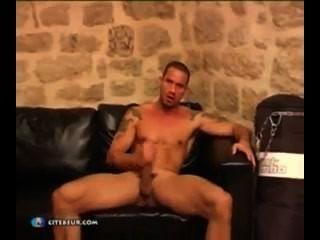 चिको Europeo masturbandose