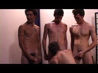 समलैंगिक Bukkake पार्टी - दृश्य 2