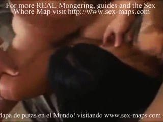 लैटिन वेश्या एक visitator स्वागत makea