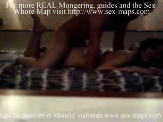 होटल पर मैक्सिकन कुतिया
