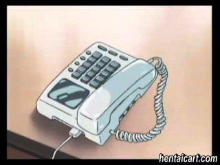 मोबाइल फोनों बेब चिकित्सक द्वारा पीछे से कठिन poked
