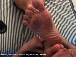 परिपक्व पैर की पूजा 3