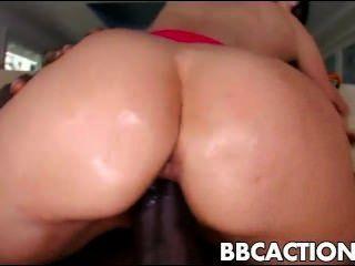 सेक्सी ईवा करेरा बीबीसी द्वारा गड़बड़ हो जाता है