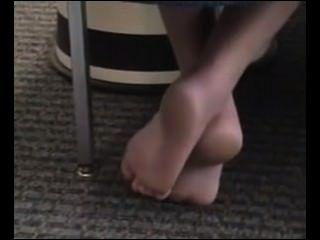 पुस्तकालय पैर की अंगुली कर्लिंग