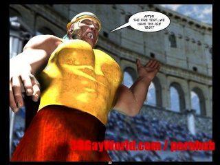 समलैंगिक ओलिंपिक खेलों अजीब 3D समलैंगिक कार्टून मोबाइल फोनों के लिए कॉमिक्स प्राचीन XXX मजाक 3dgay