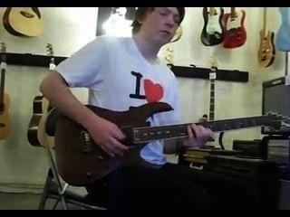 गिटार के साथ सेक्स