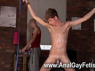 कमाल है समलैंगिक दृश्य twink आदमी याकूब डेनियल अपने हाल के भोजन है, ऊपर से उतारा