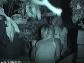 रात आउटडोर सेक्स छिप