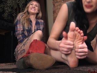 cowgirl पैर प्यार