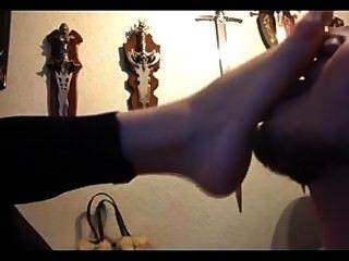 गोथिक प्रेमिका पैर प्यार