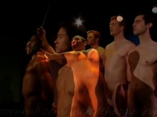 नग्न लड़कों गायन