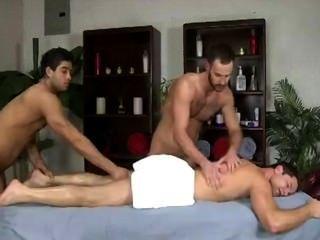 डबल पुरुष मालिश हंक masseurs