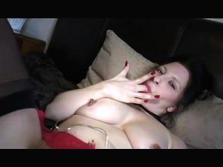 धूम्रपान बुत लड़की Masturbating