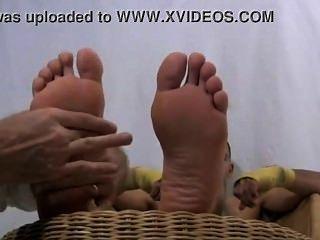 सुंदर लैटिन पैर whorshipped