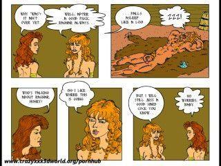 2 डी हास्य: horny गाथा