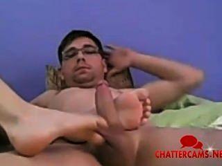 पैर wank deepthroat blowjob camshow